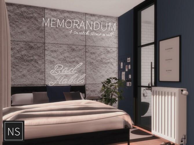 Memorandum Stone Walls by Networksims at TSR image 865 670x503 Sims 4 Updates