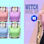 Witch pastel top