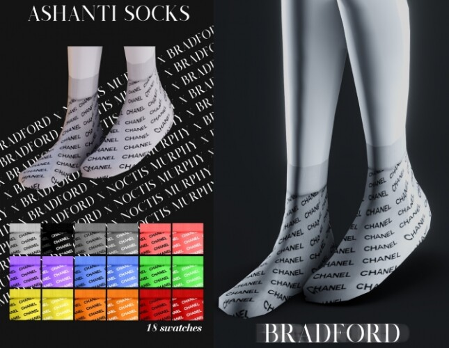 Ashanti Socks by Silence Bradford