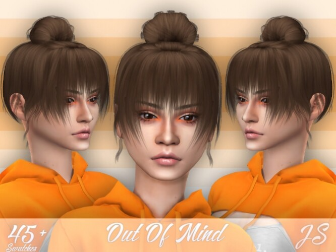 Out Of Mind Hairstyle by JavaSims