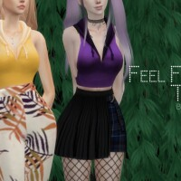 Feel Free Top by Dissia