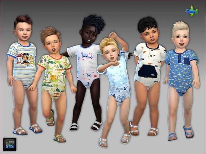 Onesies and sandals for toddler boys at Arte Della Vita image 878 670x503 Sims 4 Updates