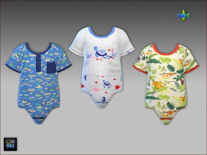 Onesies and sandals for toddler boys at Arte Della Vita image 888 670x503 Sims 4 Updates