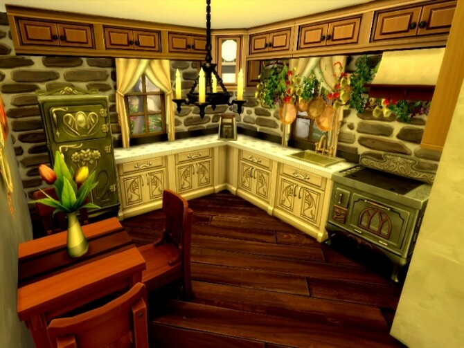 Sims 4 In the sky house by GenkaiHaretsu at TSR