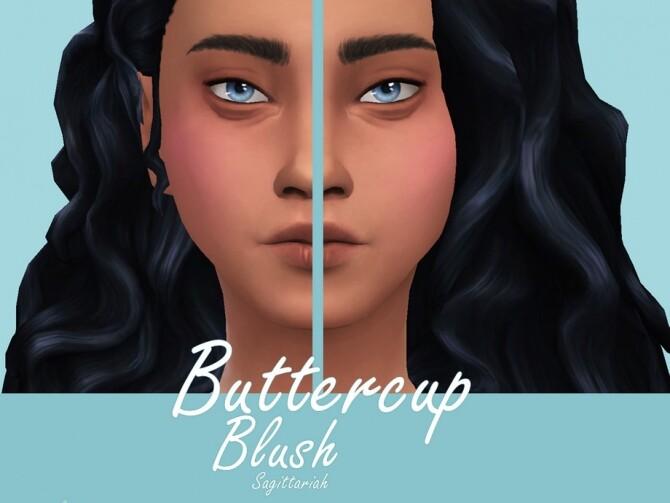 Sims 4 Buttercup Blush by Sagittariah at TSR