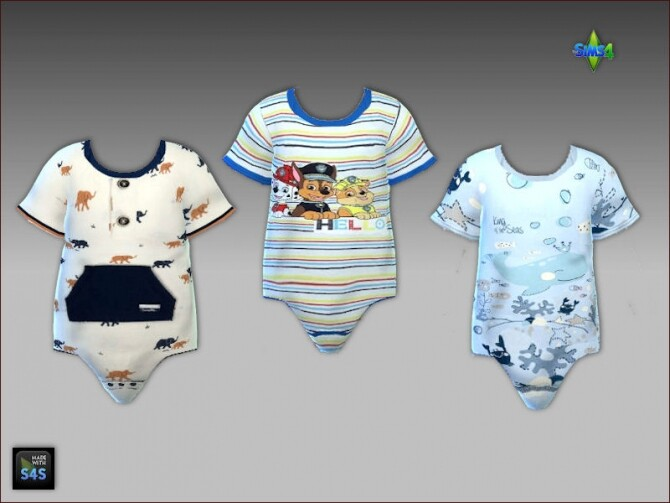 Onesies and sandals for toddler boys at Arte Della Vita image 898 670x503 Sims 4 Updates