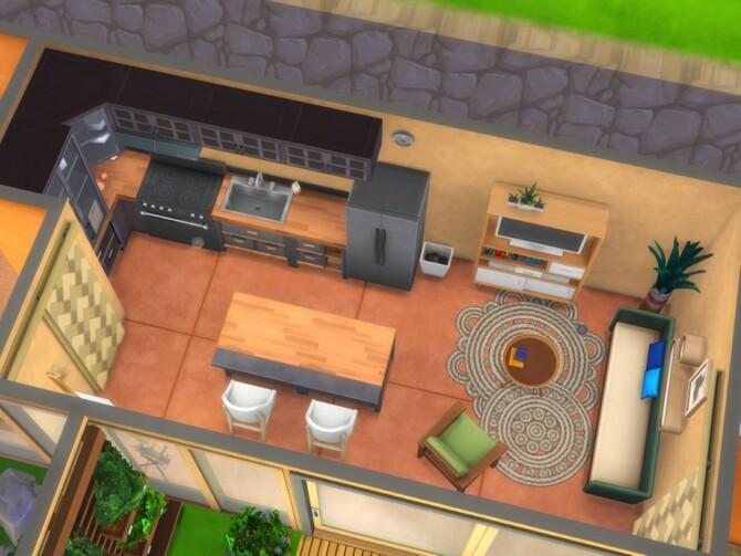 Sims 4 Earthship Tier 2 Tiny House No CC by A.lenna at TSR