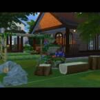 Woodbrick Zen House by Brasil Royale