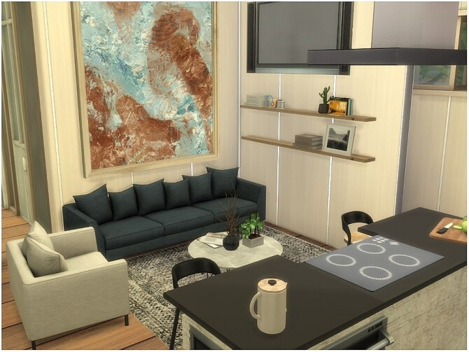 Sims 4 Meadow View House by lotsbymanal at TSR