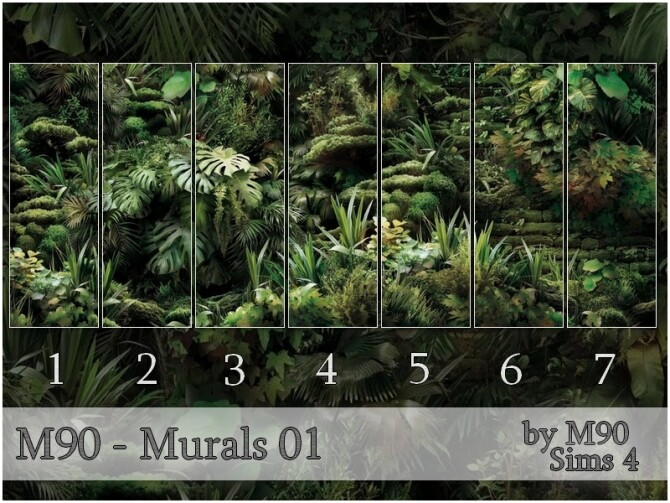 M90 Murals 01 by Mircia90 at TSR image 914 670x503 Sims 4 Updates