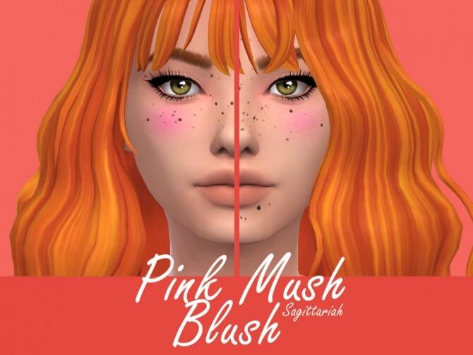 Sims 4 Pink Mush Blush by Sagittariah at TSR