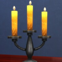 Smoreworthy Candle high-resolution recolor by xordevoreaux