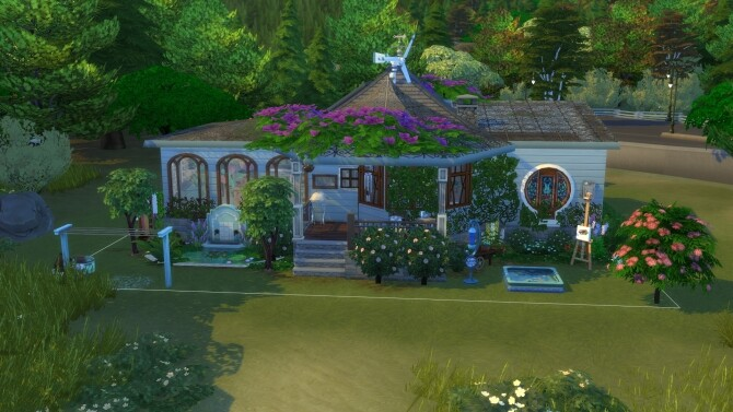 Florists Dream House by ezeliastarpuff at Mod The Sims image 9310 670x377 Sims 4 Updates