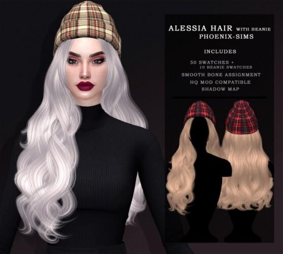 ALESSIA HAIR WITH BEANIE
