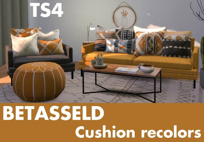 Betasseld cushion recolors