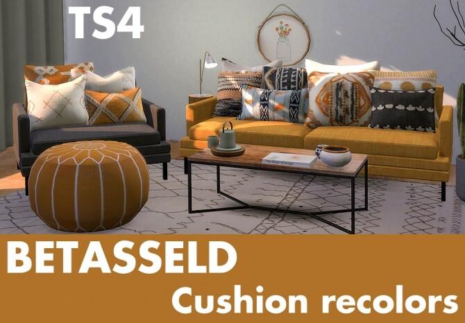 Betasseld cushion recolors