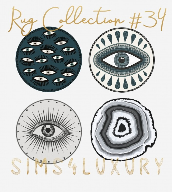 Sims 4 Rug Collection #34 at Sims4 Luxury