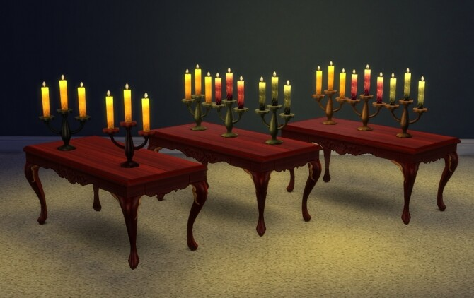 Sims 4 Smoreworthy Candle high resolution recolor by xordevoreaux at Mod The Sims