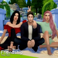 Friendship II Pose Pack by Beto_ae0