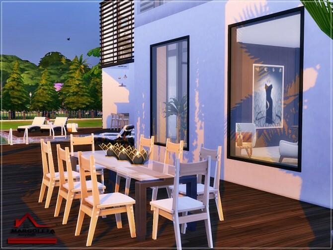 Sims 4 Margoleta House No CC by marychabb at TSR