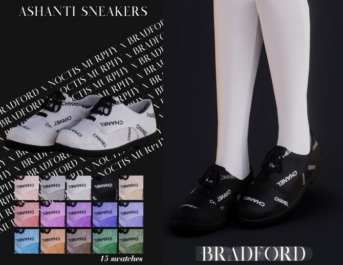 Ashanti Sneakers by Silence Bradford