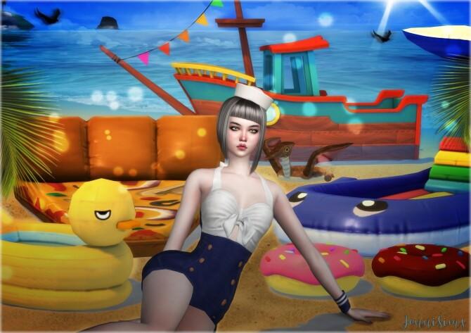 Sims 4 DECORATIVE BASE GAME COMPATIBLE 6 ITEMS at Jenni Sims