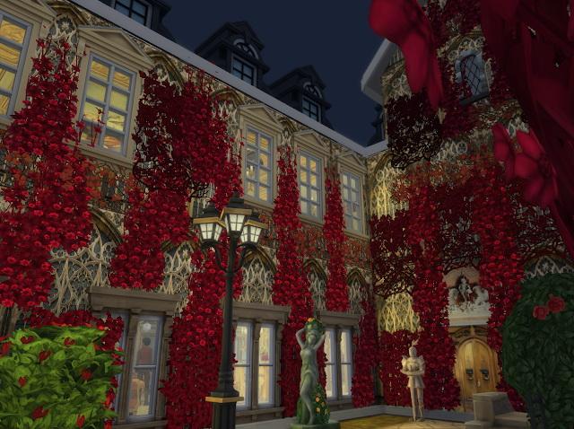 Sims 4 Crimson Trees & Flowers at Anna Quinn Stories