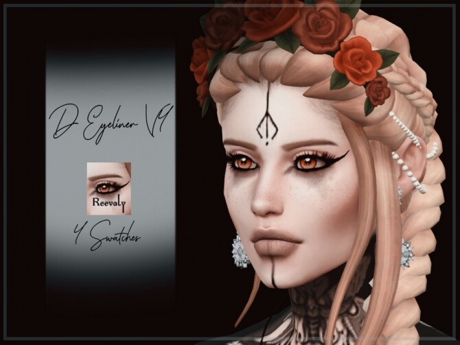 D Eyeliner V4 by Reevaly at TSR image 972 670x503 Sims 4 Updates