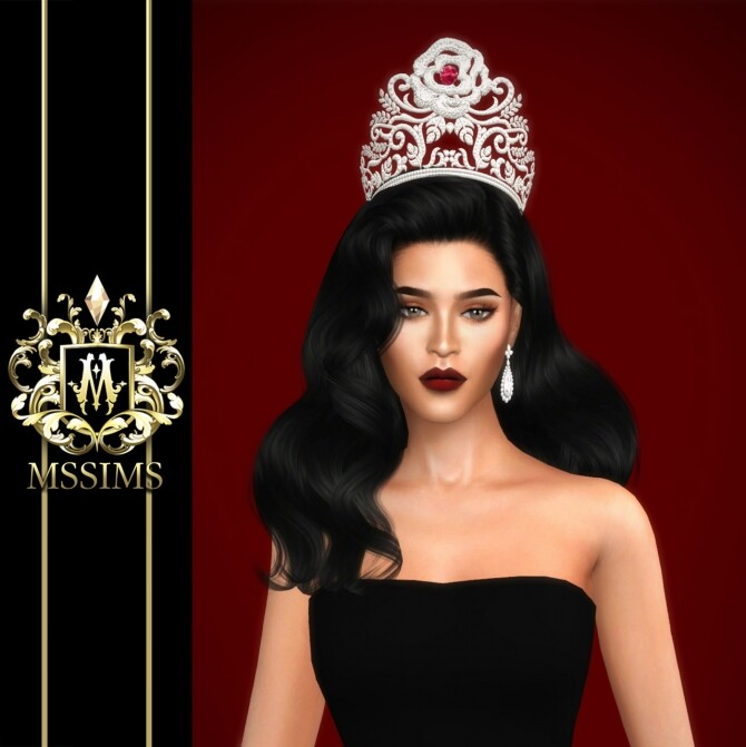 MISS THAILAND WORLD 2019 CROWN at MSSIMS image 975 670x671 Sims 4 Updates
