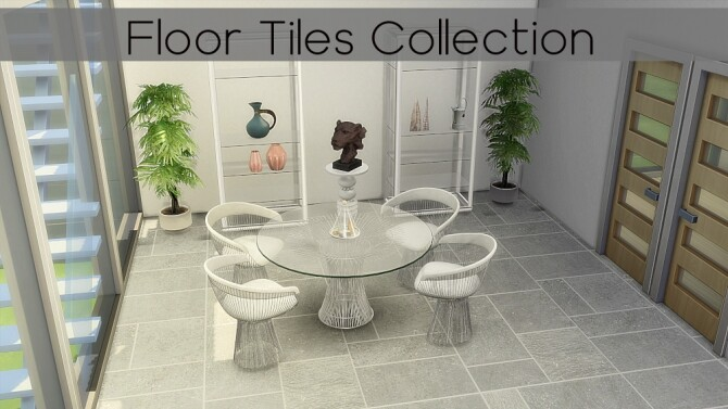 Floor Tile Collection by TaTschu