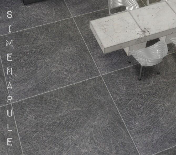 Sims 4 Concrete Tiles 01 at Simenapule