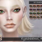 Eyeshadows 43 by tatygagg