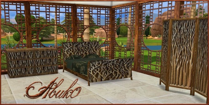 Sims 4 Bed Dresser Window Screen