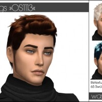 Wings OS-1113 hair retexture