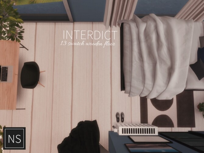 Sims 4 Interdict Wooden Floor by Networksims at TSR