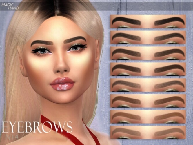 Eyebrows N14 by MagicHand