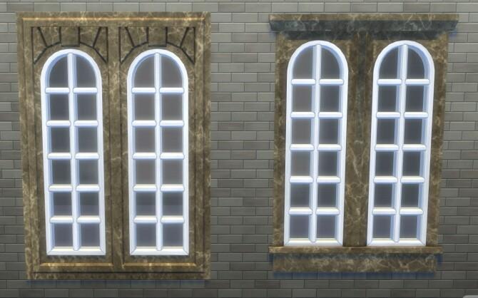 Sims 4 University Build Mode recolors by xordevoreaux at Mod The Sims