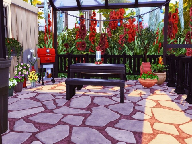 623 Courtyard Lane Family Home by candiecoatediv at TSR image 1010 670x503 Sims 4 Updates
