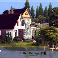 Knitted Cottage by Danuta720
