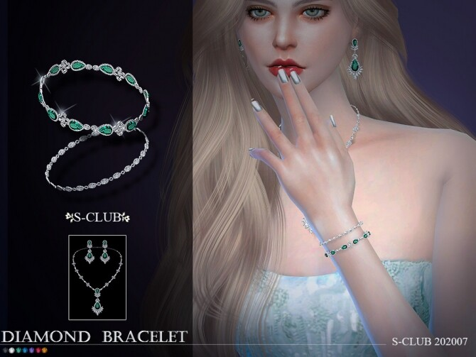 Bracelet 202007 by S Club LL at TSR image 1015 670x503 Sims 4 Updates