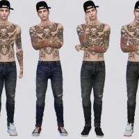 Garu Regular Denim Pants by McLayneSims