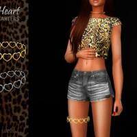 Heart Garters Set by Suzue