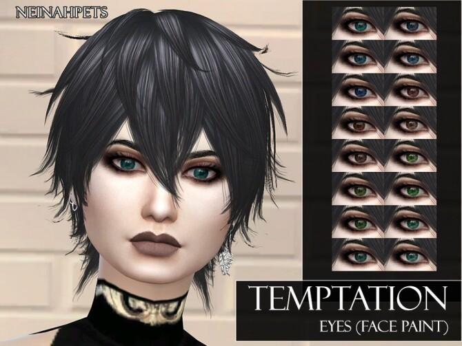 Sims 4 Temptation Eyes by neinahpets at TSR