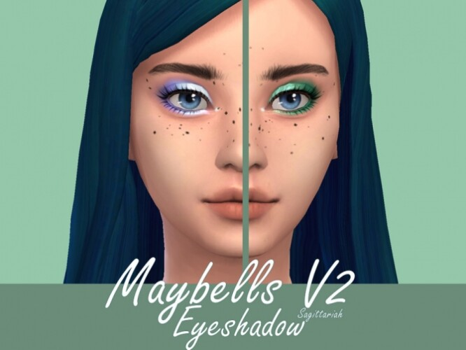 Maybells Eyeshadow V2 by Sagittariah