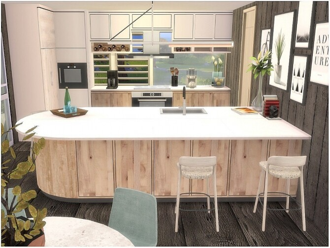 Wooden Cottage by lotsbymanal at TSR image 1048 670x503 Sims 4 Updates