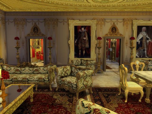 Sims 4 Kings & Queens Buckingham Palace Walls at Anna Quinn Stories
