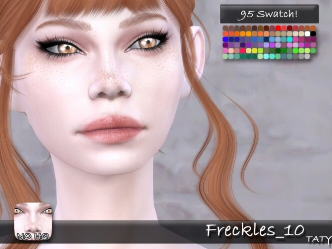 Freckles 10 by tatygagg