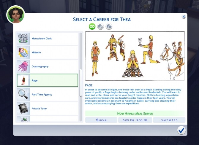 Page Part Time Career mod by sokkarang at Mod The Sims image 1068 670x489 Sims 4 Updates