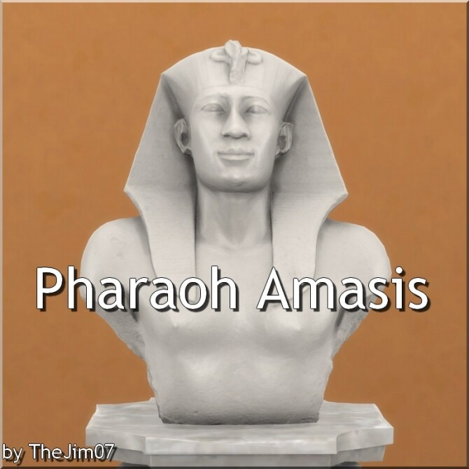 Pharaoh Amasis by TheJim07 at Mod The Sims image 1071 670x670 Sims 4 Updates