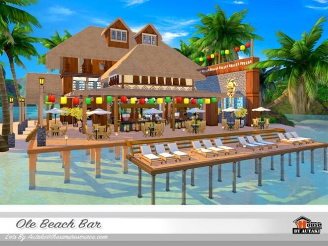 Ole Beach Bar NoCC by autaki